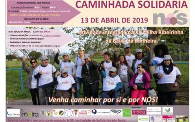 NÓS promove Caminhada Solidária a 13 de Abril