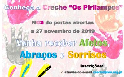 Creche 'Os Pirilampos' dinamiza Open Day a 27 de novembro