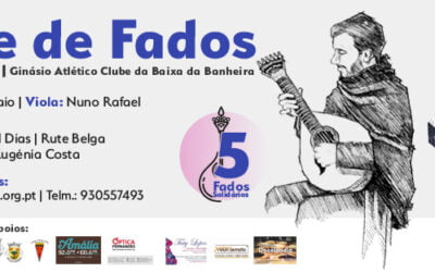 NÓS promove Noite de Fados Solidária a 8 de fevereiro